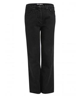Men'S Black Short-Leg Jeans