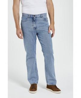 5 Pockets Men'S Rigid Washed Jeans