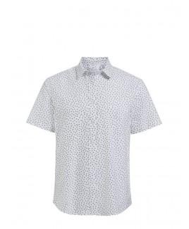 Mini Daisy Short Sleeve Cotton Shirt