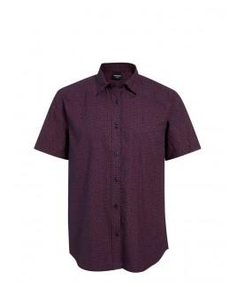 Tyrell Cotton Mini Blown Short-Sleeved Shirt