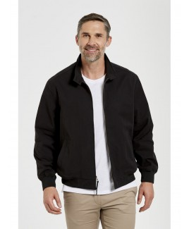 Men'S Waterproof Jacket Rib Cuff And Hem