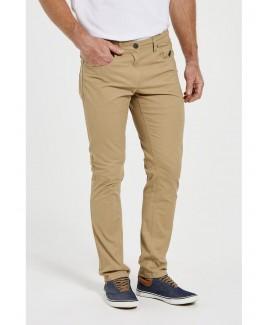 Men'S 5-Pocket Cotton-Twill Trousers