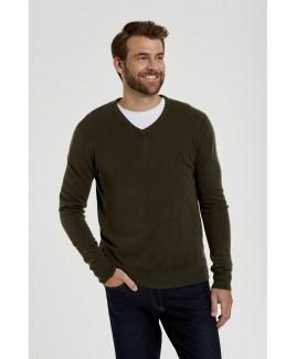 V-Neck Soft Knit