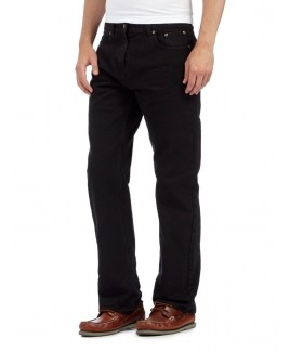 Black Raw Wash Jeans