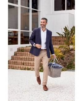 Men'S Pure Linen Classic Blazer