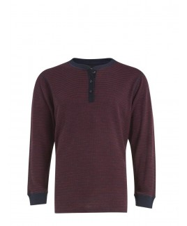 Casual Striped Long Sleeve T-Shirt