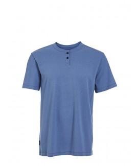 Short Sleeve Cotton Textured T-Shirt