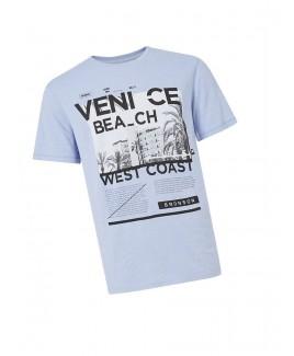 Men'S Venice Beach Print T-Shirt