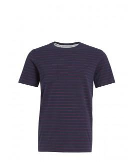 Casual Pinstripe T-Shirt