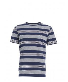 Barrage Lake Cotton Stripe Engineering T-Shirt