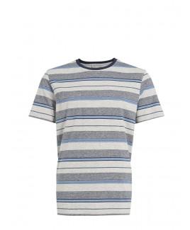 Cotton Striped T-Shirt