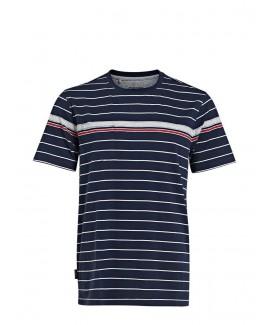 Clinton Cotton Striped T-Shirt